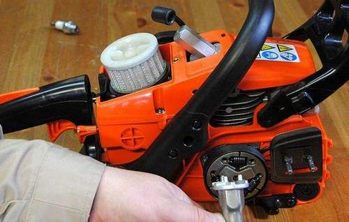 Replacing Rope With Stihl 180