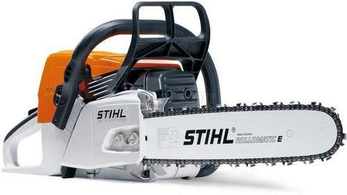 what gasoline to fill in a stihl 180 chainsaw