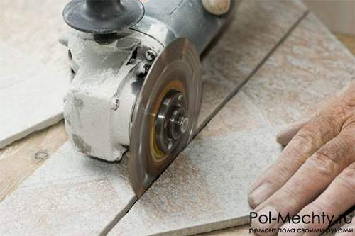 Which Side Cut Tile Angle Grinder