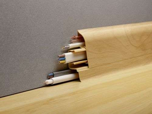 how to cut a floor plinth