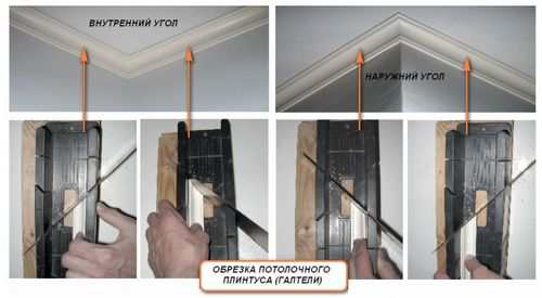 How To Cut A Ceiling Plinth