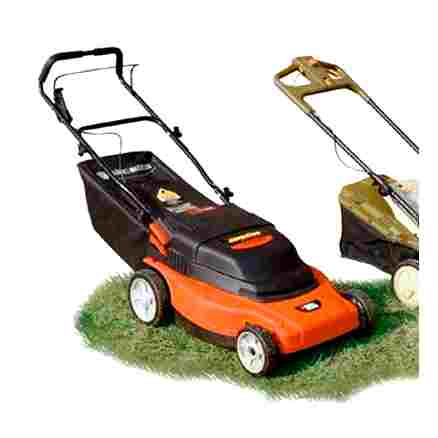 electric, lawn, mower, wind, line