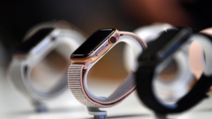 蘋果通過新專利 涉及可支援健康監測的穿戴裝置 (圖片:AFP)