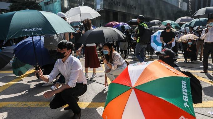 香港問題,比想像中嚴重。(圖/AFP)