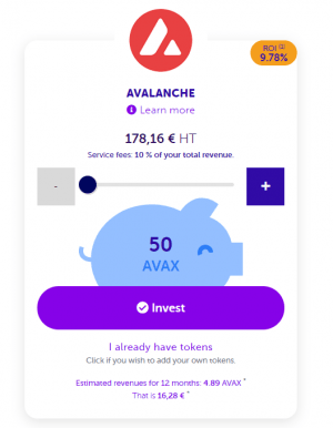 How to invest avalanche avax
