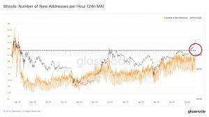 The number of new Bitcoin addresses explodes in 24 hours ... 102