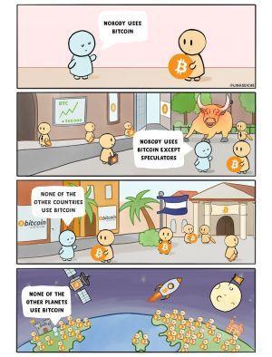 El Bitcoin, Destekleyici Milletvekilleri, FUDy Nöbetleri ve 20 Kripto Şakası 102