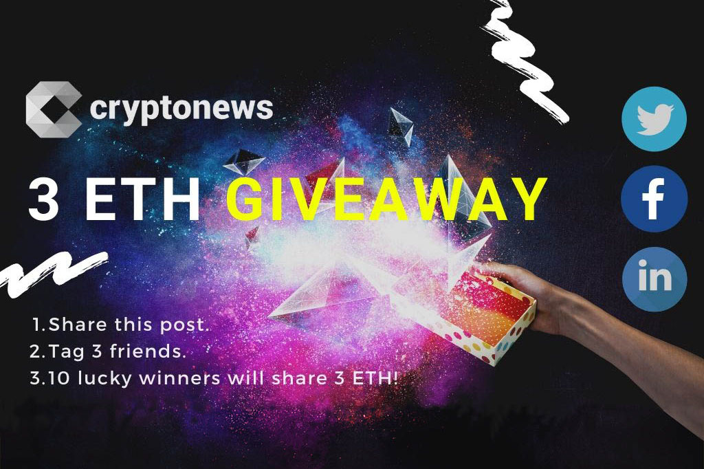 Photo of The One And Only REAL ETH Giveway by Cryptonews