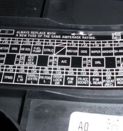 acura tsx fuse box diagram acurazine 1999 acura cl fuse box diagram [ 1024 x 768 Pixel ]