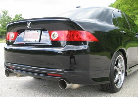 acura tsx 2004 2008 exhaust reviews