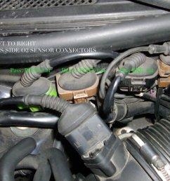 audi c5 c6 a6 s6 v6 turbo o2 oxygen sensor remove replace how to [ 1024 x 768 Pixel ]
