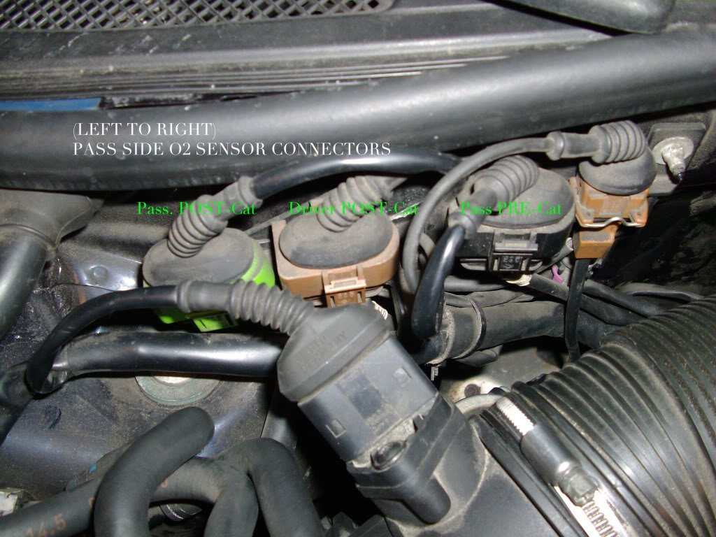 hight resolution of audi c5 c6 a6 s6 v6 turbo o2 oxygen sensor remove replace how to