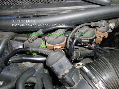 small resolution of audi c5 c6 a6 s6 v6 turbo o2 oxygen sensor remove replace how to