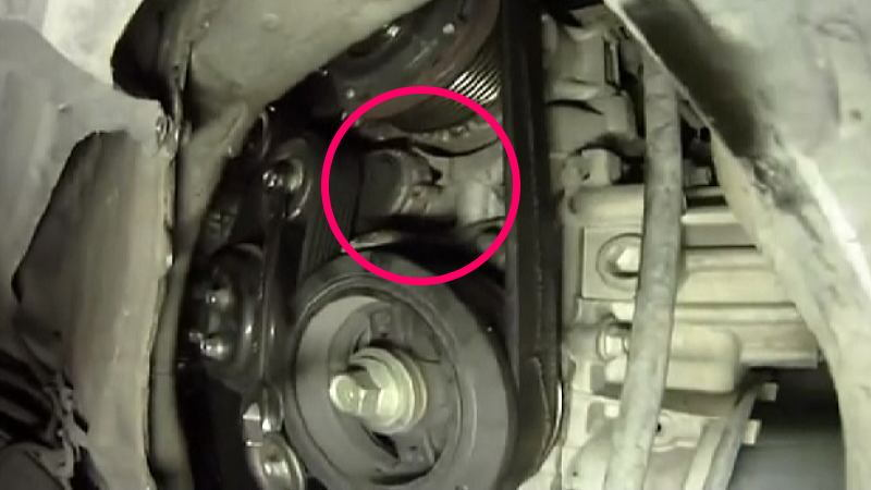 2011 Camry Engine Diagram Toyota Camry 2007 To 2011 How To Replace Serpentine Belt