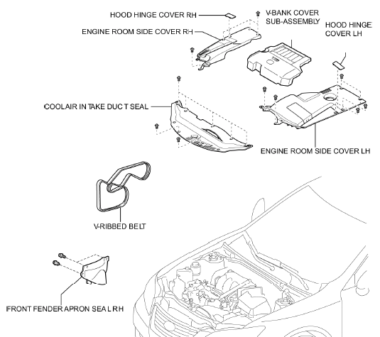 Service manual [1999 Lexus Es T Belt Replacement