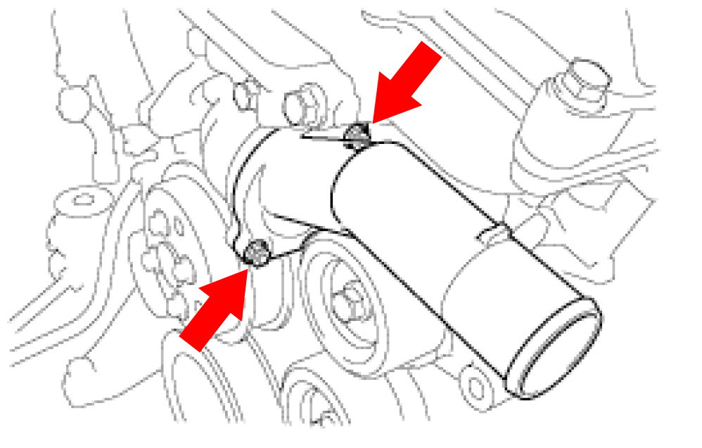 Service manual [Removing Thermostat On A 2006 Lexus Rx