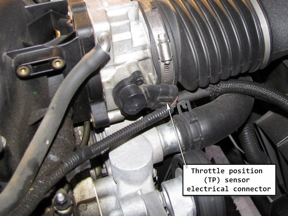 medium resolution of disconnect the tps wiring harness first