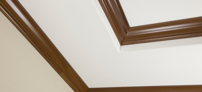Painting Ceiling Trim for a Decorative Contrast