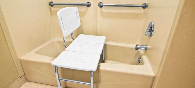fishing chair small harp back antique making a bathtub accessible for disabled people | doityourself.com