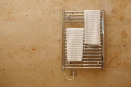How to Install a Hydronic Towel Warmer  DoItYourselfcom