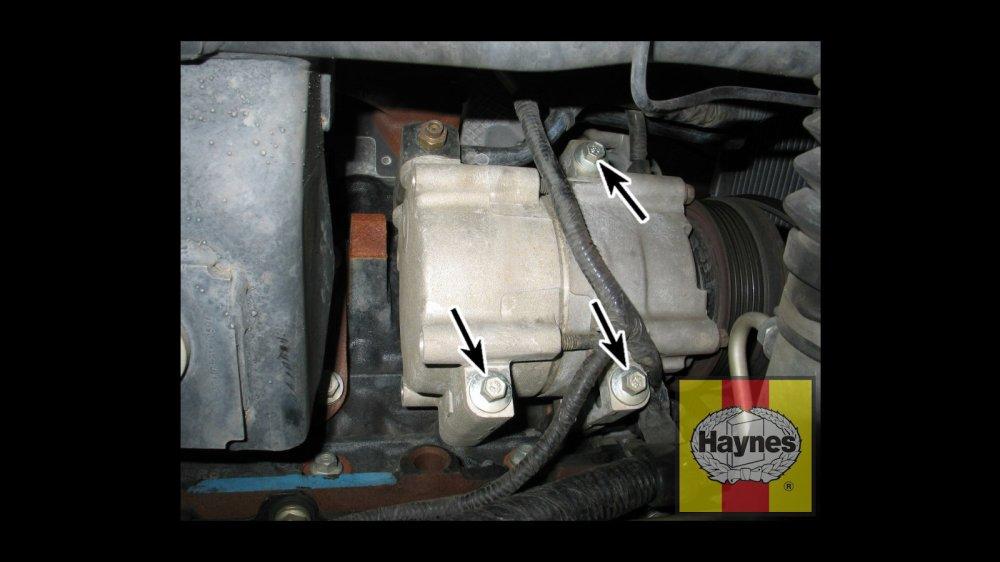 medium resolution of a c compressor mounting bolts