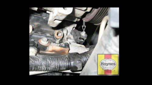 small resolution of crankshaft position sensor mounting bolt ford f 150