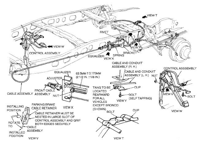 2003 Ford Ranger Front Brake Line Diagrams