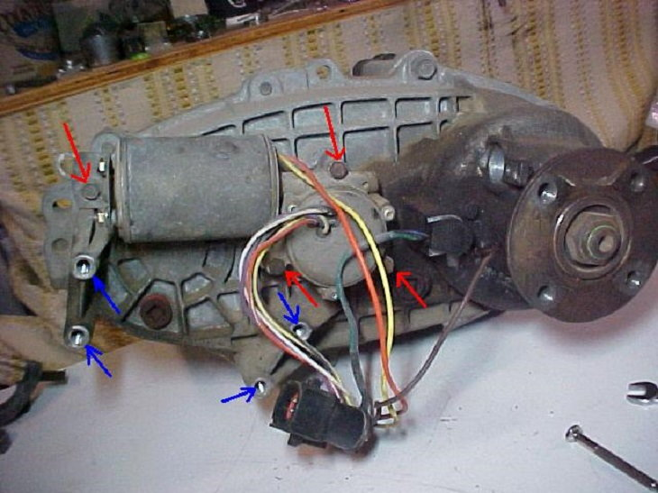 99 Ford F 250 Powerstroke Fuse Box Diagram Ford F150 F250 How To Replace Transfer Case Motor Ford