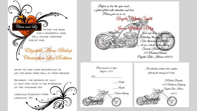 11 Things You Need For A Harley Davidson Themed Wedding