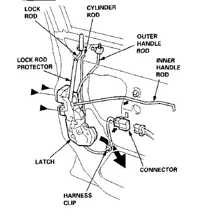 Key Lock Diagram Key Lock Cross Section Wiring Diagram