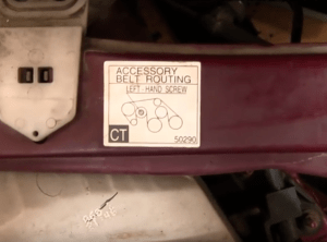 Toyota Tundra 2000Present How to Replace Serpentine Belt