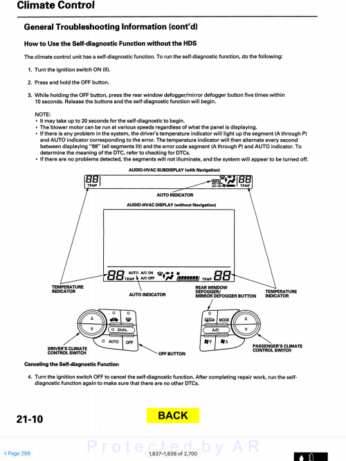 small resolution of some useful service manual pages