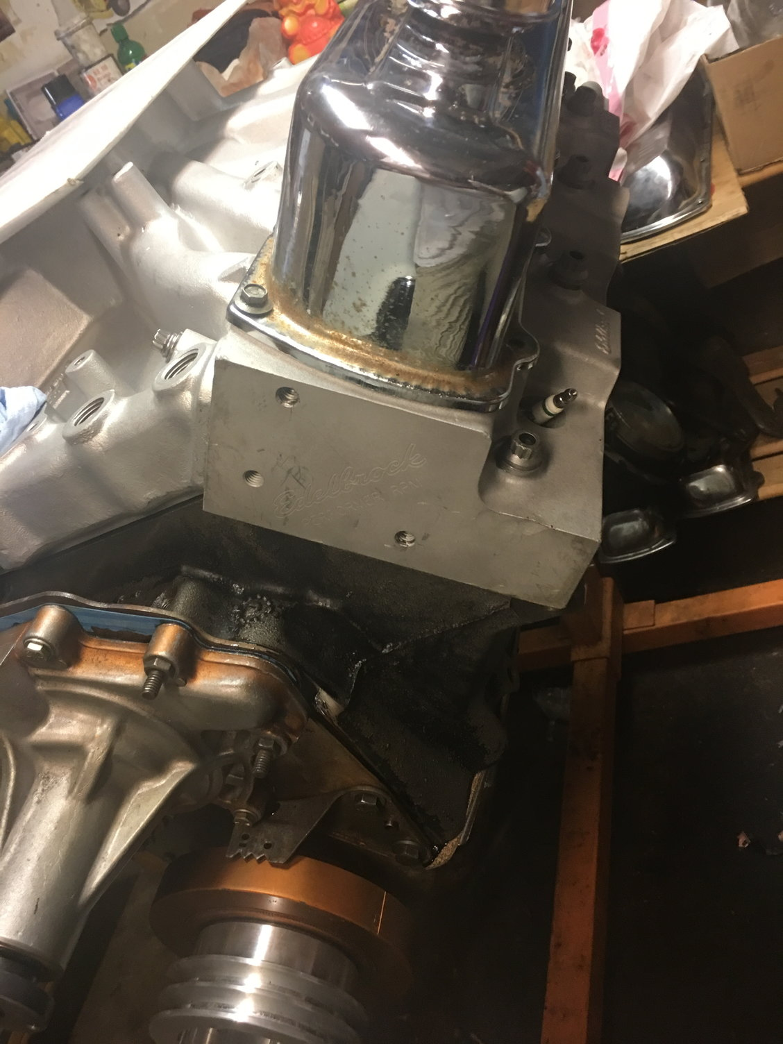 hight resolution of does not fit with tall valve covers