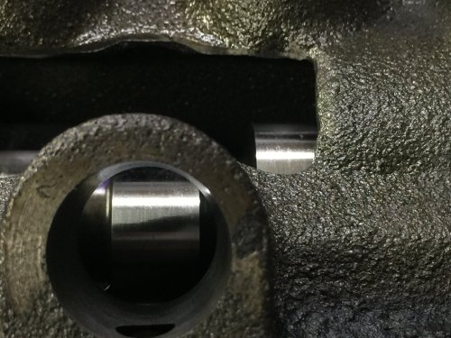 small resolution of  2 intake lifter bore