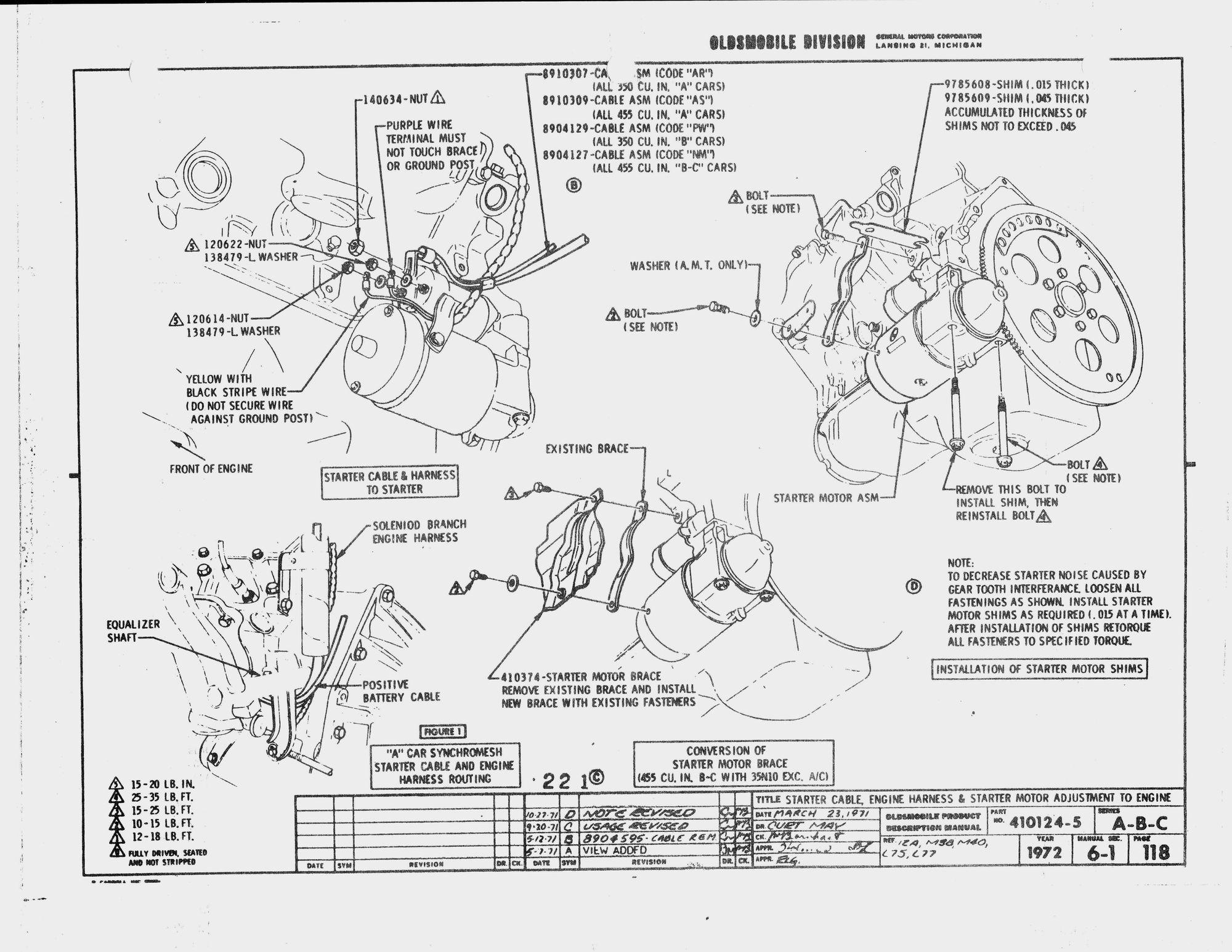 72 cutlass wiring diagram schematics online Eclipse Wiring Diagram