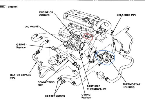 small resolution of i have a b18c and i m a little lost with the intake manifold hoses i found diagrams online but they also have differences heres the first diagram