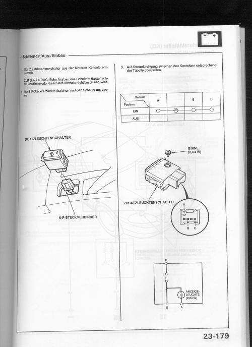 small resolution of as in someone has used a pigtail from another connector that happens to fit the switch that said here is the switch s wiring diagram in german heh