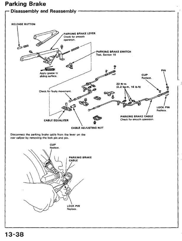 Honda Civic Brake Caliper Parts Diagram. Honda. Auto
