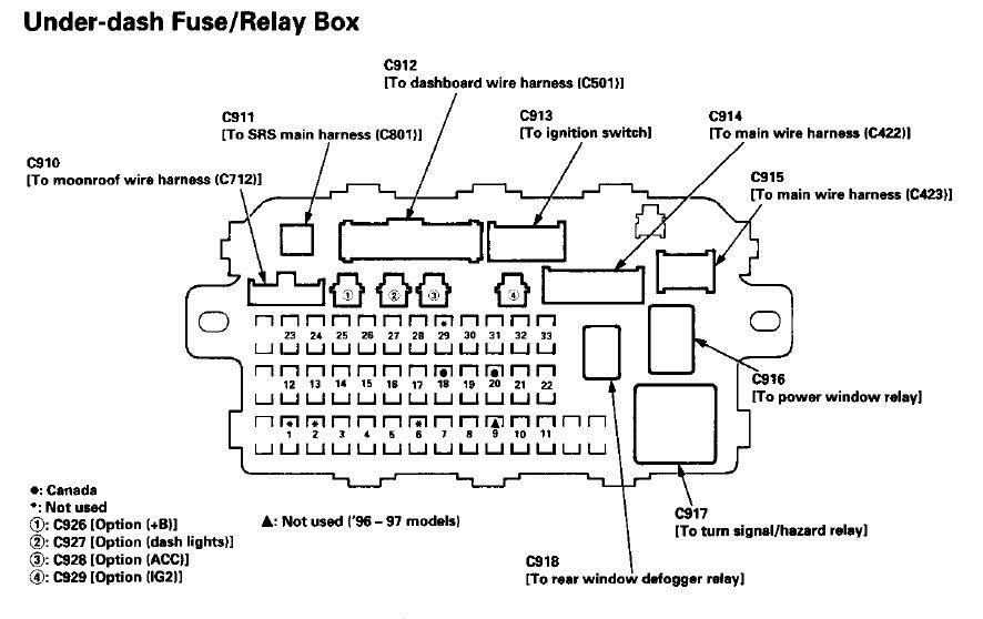 90 honda accord ex wiring diagrams