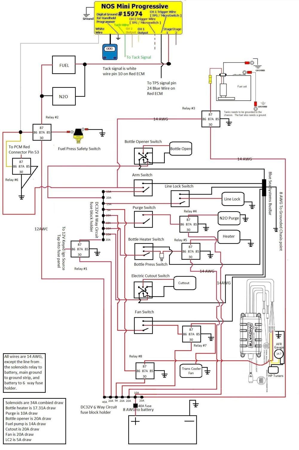 medium resolution of 2 stage nitrous wiring diagram schematic