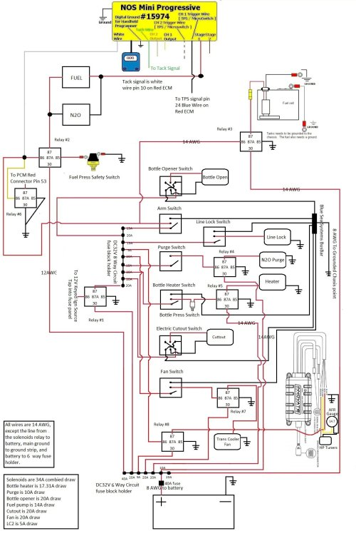 small resolution of 2 stage nitrous wiring diagram schematic