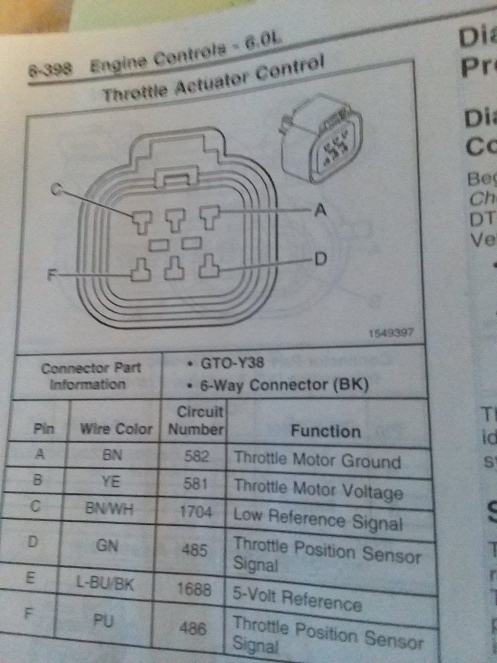 medium resolution of tac harness plug diagram for 2006 gto
