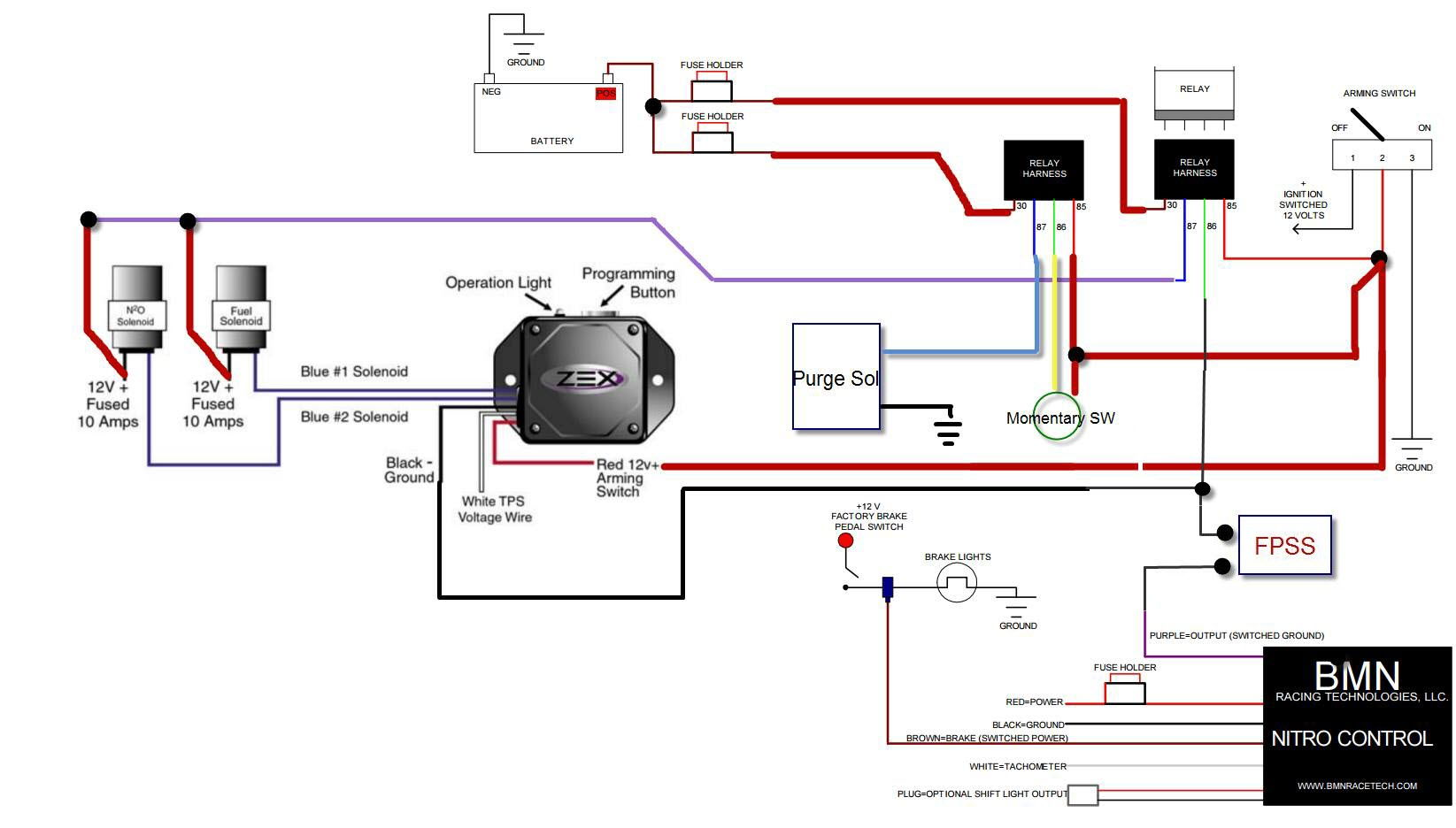 Nitrous Window Switch Wiring On 2 Stage Nitrous On Wiring Diagram