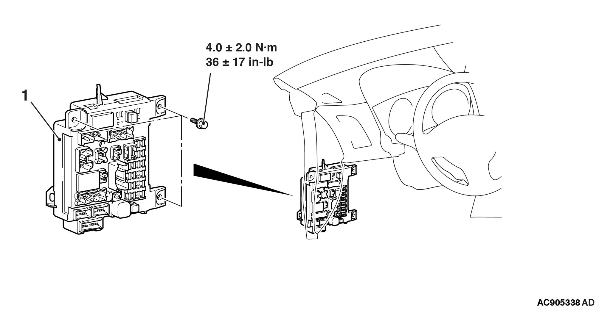 2014 Outlander Sport No-Start/Fuel Pump Wiring