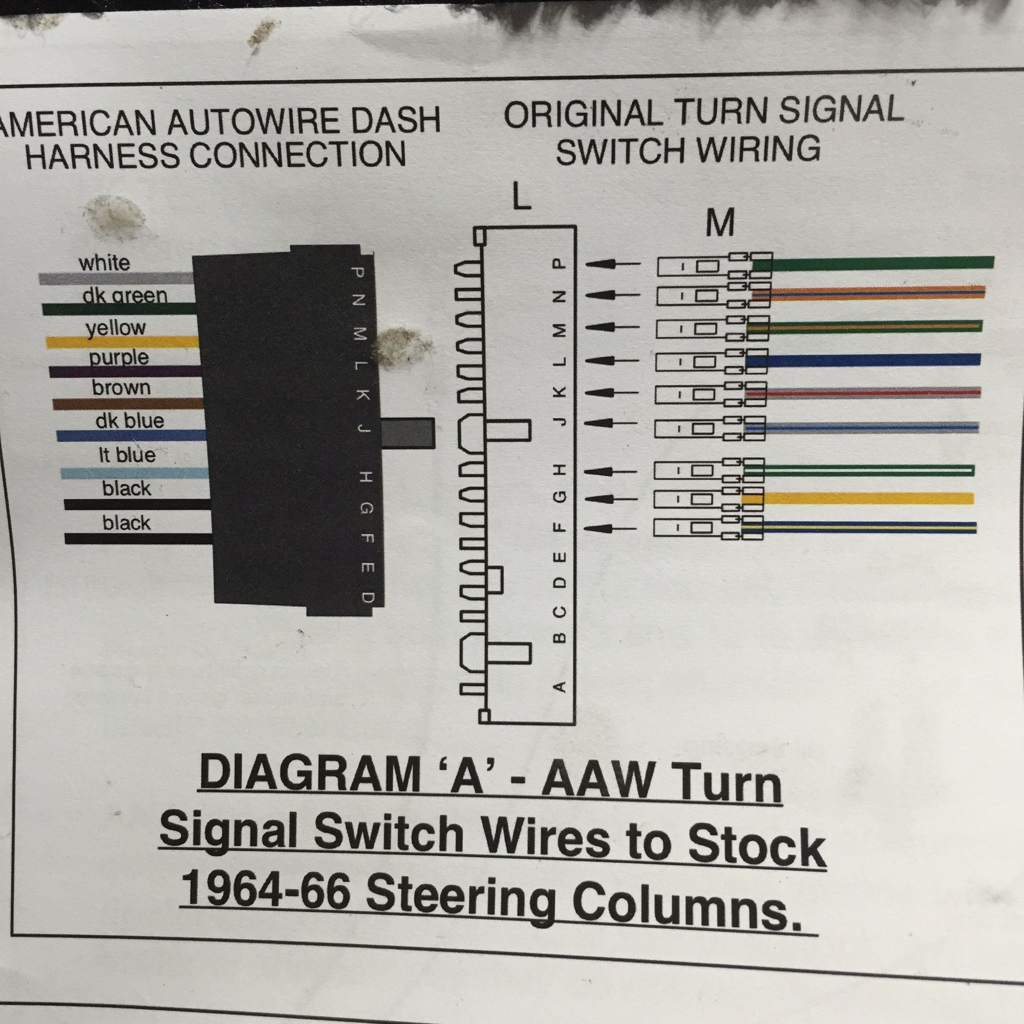 hight resolution of the first picture is the turn signal wires that i already crimped connectors on and pushed into the plug i took a wild guess on the order they should be in