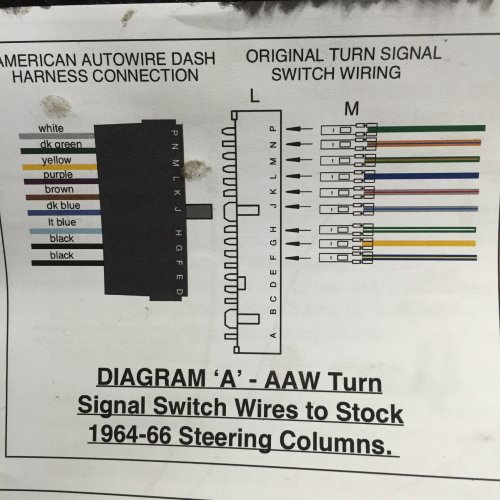 small resolution of the first picture is the turn signal wires that i already crimped connectors on and pushed into the plug i took a wild guess on the order they should be in