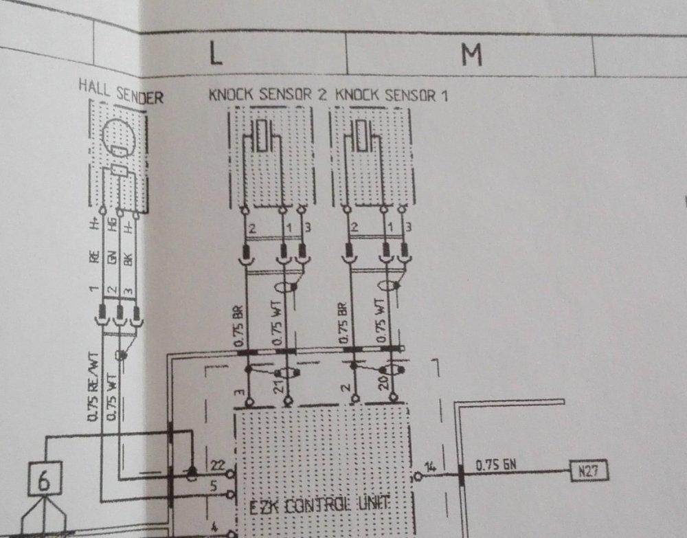 medium resolution of knock sensor wiring