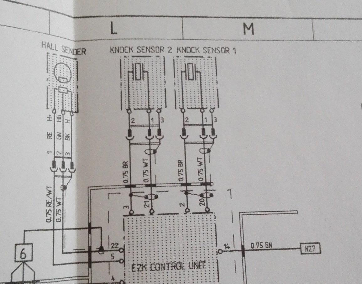 hight resolution of knock sensor wiring