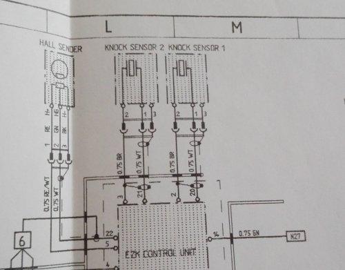 small resolution of knock sensor wiring