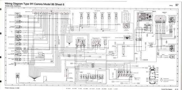 porsche 911 964 wiring diagram trailer plug 7 way south africa diagrams schematic turbo simple speedometer